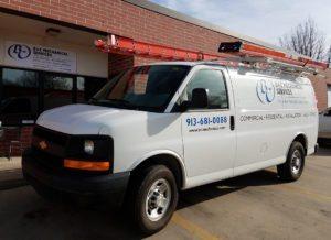 B & C Mechanical Van